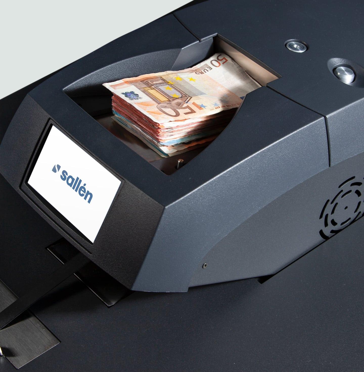 Cash deposit - high speed range